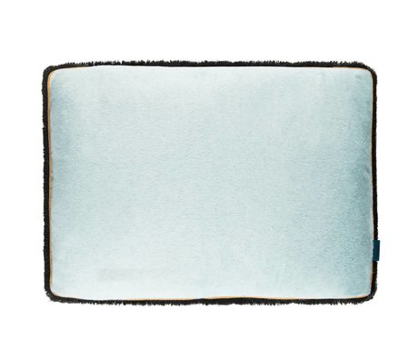 POM Amsterdam Soft cushion Soft Drops Sea blue textile 40x60cm