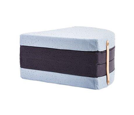 OYOY Matras a piece of cake multicolor katoen Ø118cm