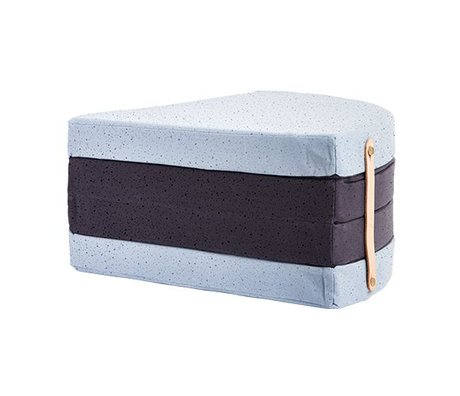 OYOY Mattress a piece of cake multicolor cotton Ø118cm