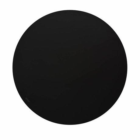 OYOY Krijtbord draw on me zwart Ø58x0,7cm