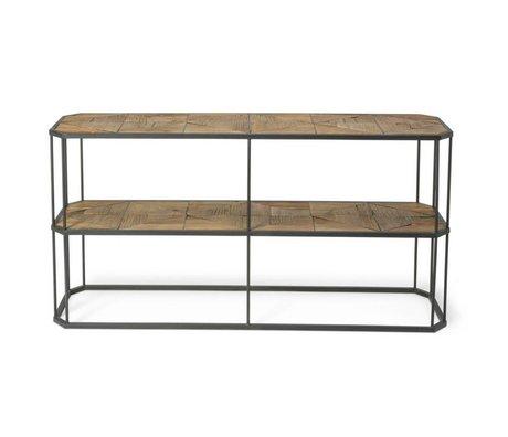 O'BEAU Beistelltisch Flynn Holz Metall 160x40x90cm
