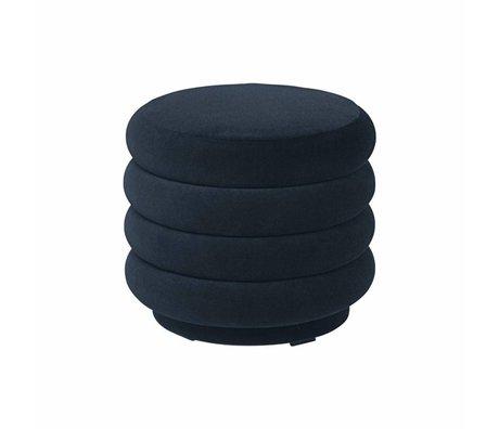 Ferm Living Powder dark blue velvet Ø42x40cm