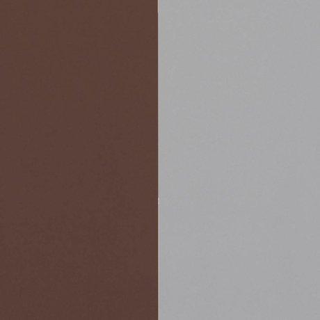 Ferm Living Behang Thick Lines bordeaux rood grijs 53x1000cm