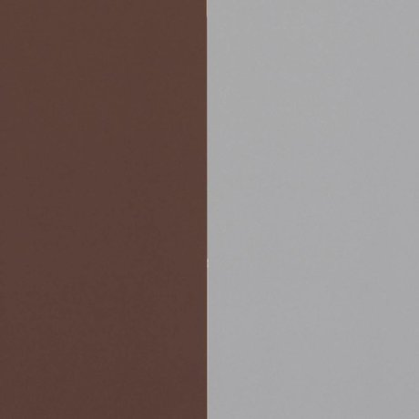 Ferm Living Dicke Linien Tapete bordeaux grau 53x1000cm