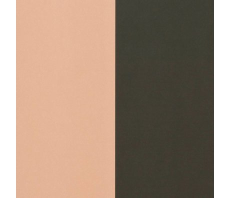 Ferm Living Wallpaper Thick Lines green pink 53x1000cm