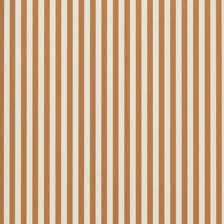 Ferm Living Behang Thin Lines okergeel cremewit 53x1000cm
