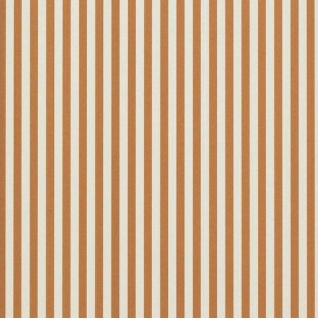 Ferm Living Papier peint Lignes fines ocre crème 53x1000cm blanc