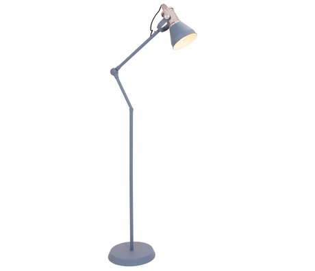 Anne Lighting Stehlampe Brusk blau Metall ø30x120-180cm
