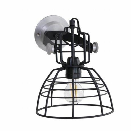 Anne Lighting Wandlamp Anne MarkllI Mini zwart metaal ø22x24cm