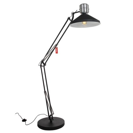 Anne Lighting Floor lamp Anne Zappa aluminum black ø38,5x180cm