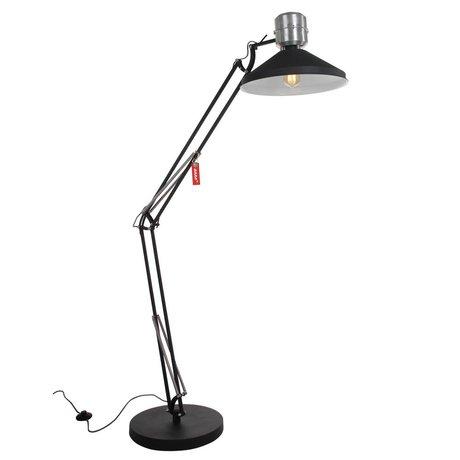 Anne Lighting Stehleuchte Anne Zappa Aluminium schwarz ø38,5x180cm