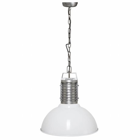 Anne Lighting Hanglamp Anne Oncle Philippe wit aluminium ø50x192cm