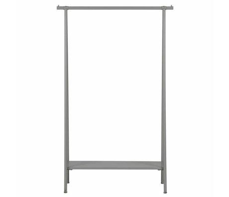 vtwonen Kledingrek Hang out grijs metaal 160x100x40cm