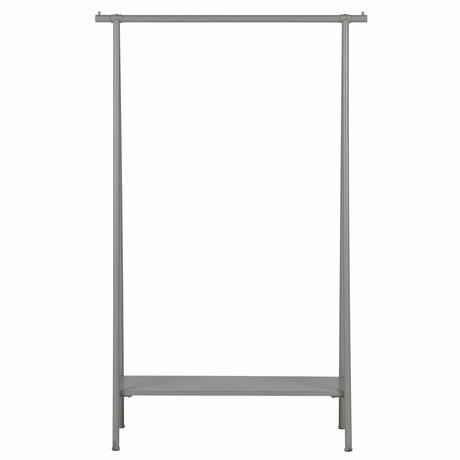 vtwonen Clothes rack Hang out gray metal 160x100x40cm