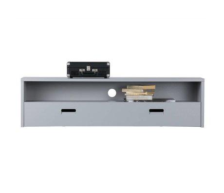 vtwonen Meuble TV Look At 40x150x35cm bois gris