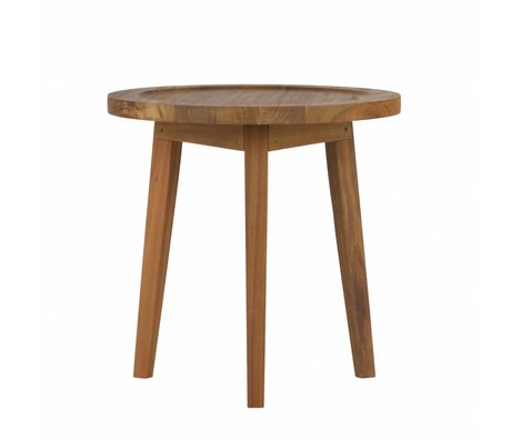 vtwonen Side table Spruce table natural wood S 60x45x45cm
