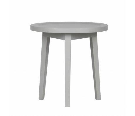 vtwonen Table d'appoint Sprokkeltafel bois gris XS 45x45x45cm