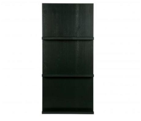 vtwonen Pronkrek hangend zwart hout 120x56x10cm
