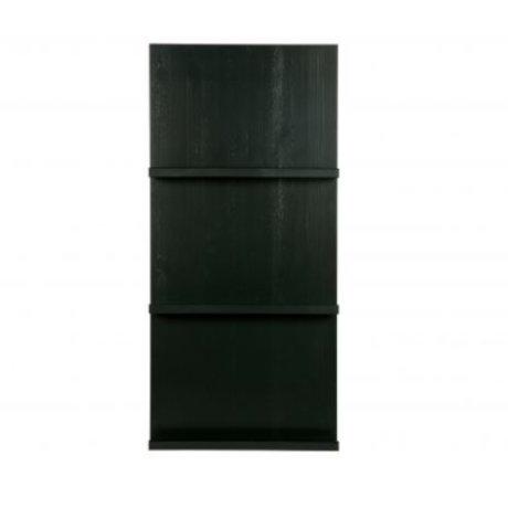 vtwonen Pronkrek hanging black wood 120x56x10cm