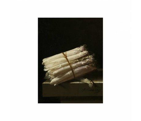 KEK Amsterdam Houten paneel Glorious Food Asparagus S 45x60cm