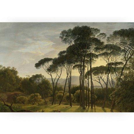 KEK Amsterdam Houten paneel Golden Age Landscape XL 180x120cm