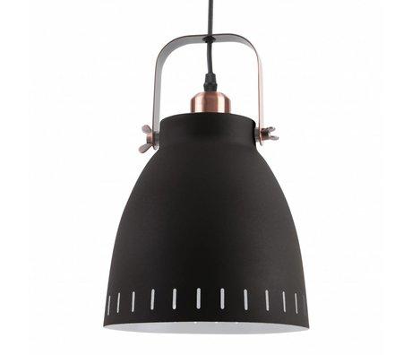 Leitmotiv Hanglamp pendant Mingle zwart metaal Ø26,5x19x26,5