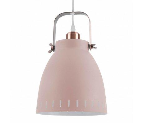 Leitmotiv Pendelleuchte Anhänger mischen rosa Metall Ø26,5x19x26,5