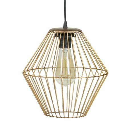 BePureHome Hanglamp Elegant L brass goud metaal 29x26x26cm