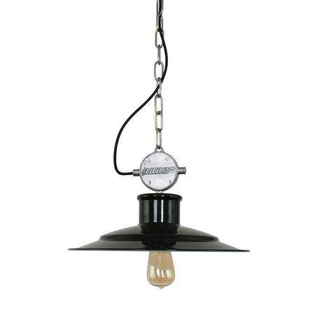 Anne Lighting Hanglamp Millstone zwart metaal 40x195cm