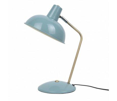 Leitmotiv Tischleuchte Hood hellblau metallic Ø19,5x37,5cm