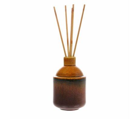 HK-living HK.5 fragrance sticks: clean basil 8,5x8,5x13,5cm
