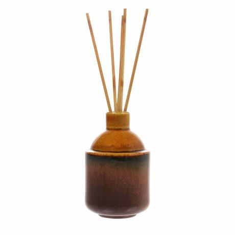 HK-living bâtons de parfum HK.5: 8,5x8,5x13,5cm basilic propre