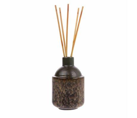 HK-living bâtons de parfum HK.6: milieu de l'été 8,5x8,5x13,5cm musc