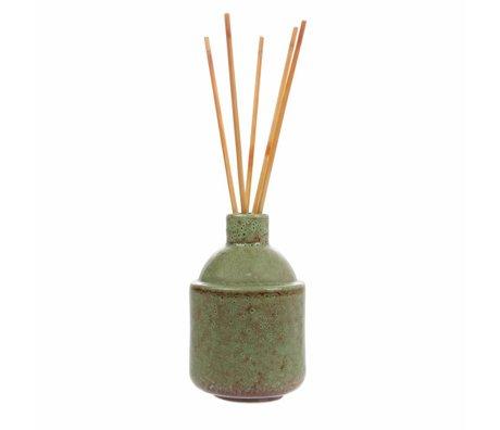 HK-living HK.8 geurstokjes: green blossom 8,5x8,5x13,5cm