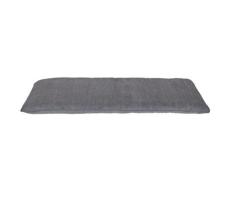 vtwonen Kussen Store grijs katoen 120x50x6cm