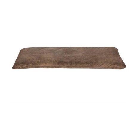 vtwonen oreiller magasin coton brun 120x50x6cm