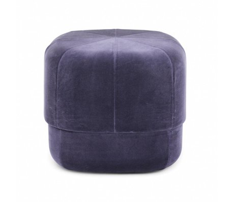Normann Copenhagen Powder Circus purple velours small 40x46x46cm