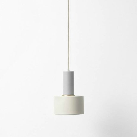 Ferm Living Hanglamp Disc low light gray metal