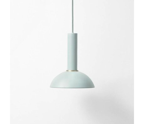 Ferm Living Hanglamp Hoop high dusty blue metal