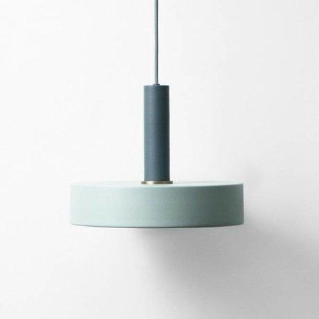 Ferm Living Hanglamp Rekordhoch staubig blauw dunkelblau metallic