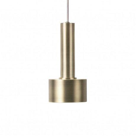 Ferm Living Hanglamp Disc high  brass goud metaal