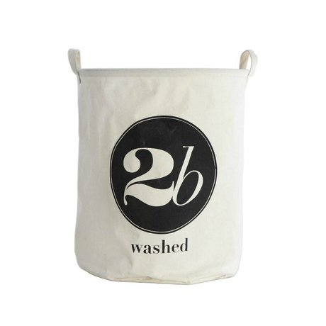 Housedoctor Wasmand 2 be washed wit textiel Ø40x50cm