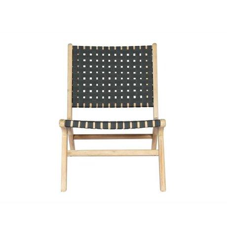 vtwonen Sitzrahmen anthrazit Holz 78x59x71cm