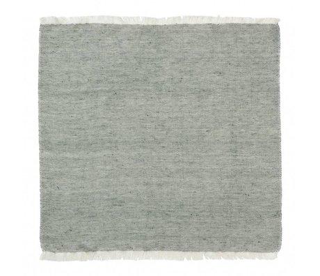 Ferm Living Cotton Napkins Blend green set of 2 40x40cm