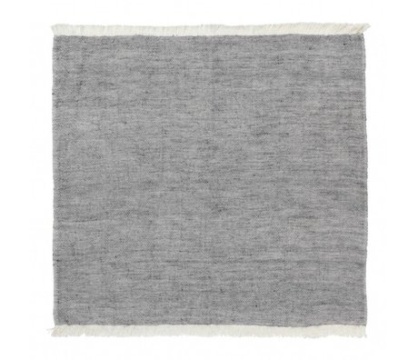 Ferm Living Cotton Servietten Mischung blau 2er-Set 40x40cm