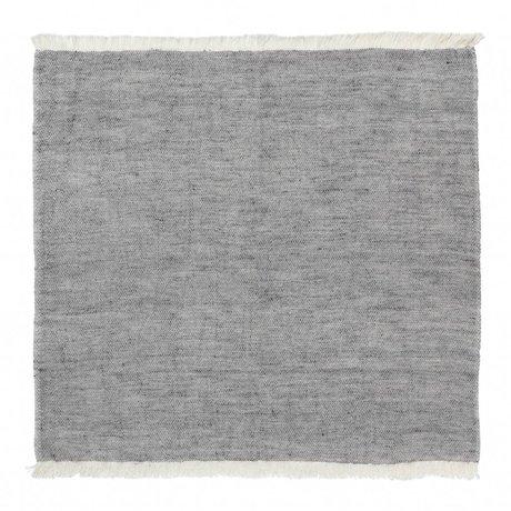 Ferm Living Cotton Napkins Blend blue set of 2 40x40cm