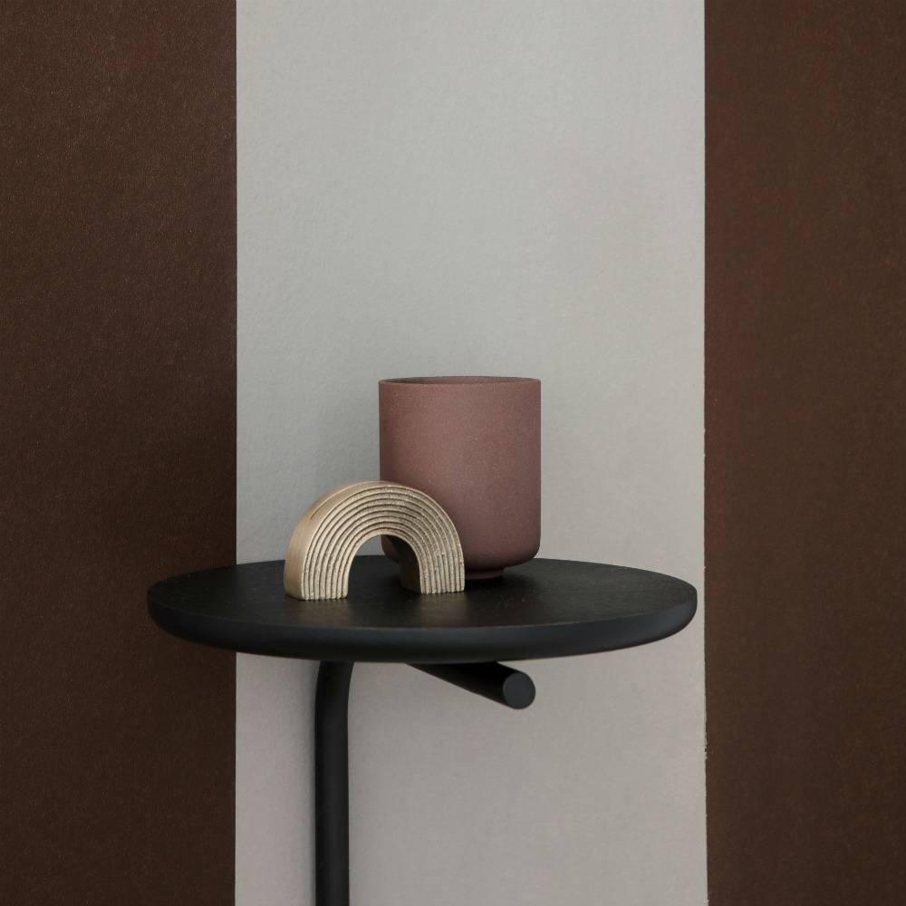 Wandplank Zwart Metaal Hout.Wandplank Hout Metaal Ferm Living Wandplank Pujo Zwart Metaal Hout