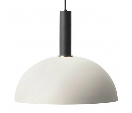 Ferm Living Dome light Dome light gray black metal