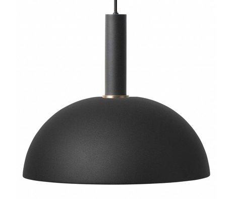 Ferm Living Hängeleuchte Dome hohe schwarzes Metall