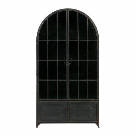 BePureHome Arcade Cabinet Black Metal 172,5x91,5x37cm